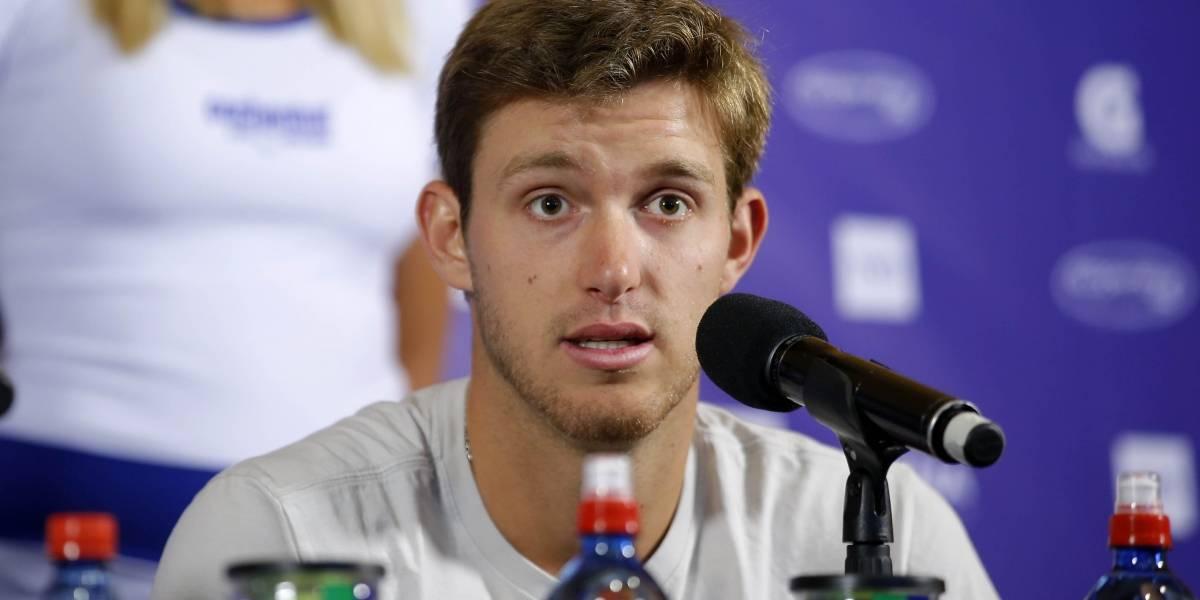 """Nicolás Jarry es pura fe en el circuito ATP: """"Entrenando bien siento que le puedo ganar a cualquiera"""""""