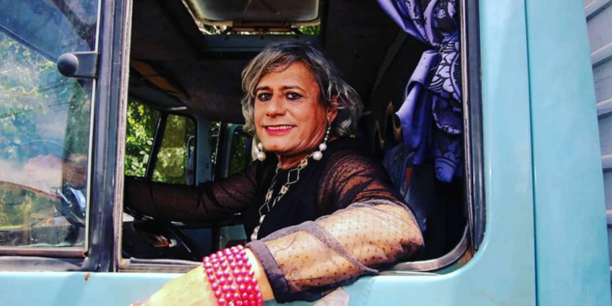Caminhoneira trans ganha desfile de moda em sua homenagem em São Paulo