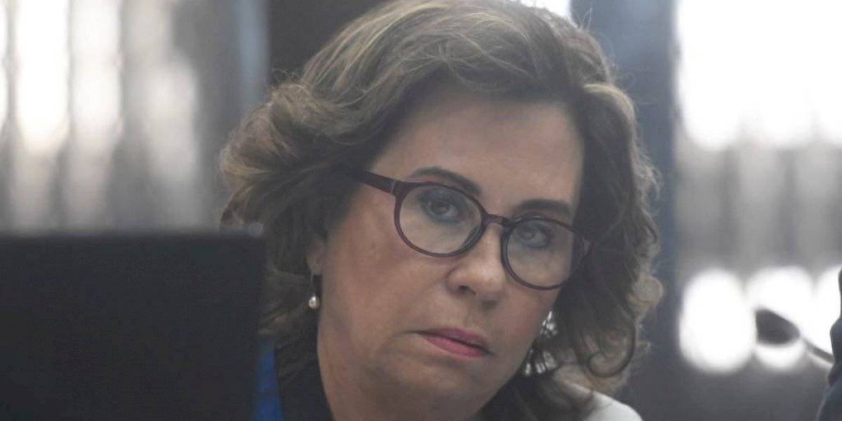 Sandra Torres insiste en buscar que se le otorgue arresto domiciliario