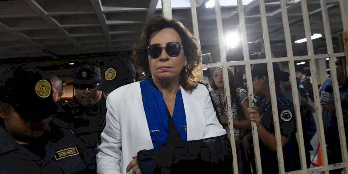 Sandra Torres se niega a ser evaluada por médicos del Inacif