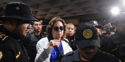 Sandra Torres es trasladada a Tribunales para continuación de audiencia