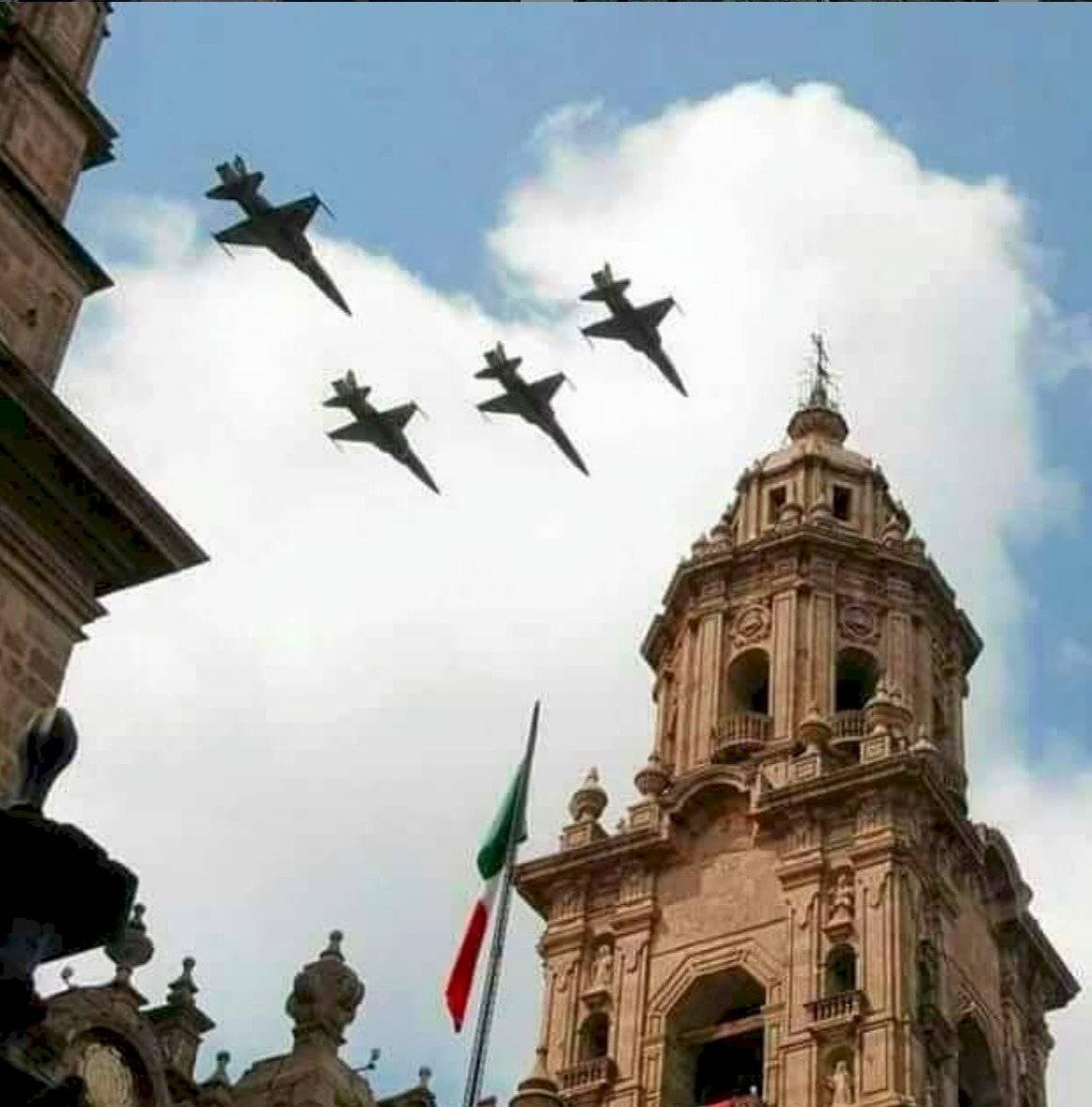 desfile militar del 16 de septiembre