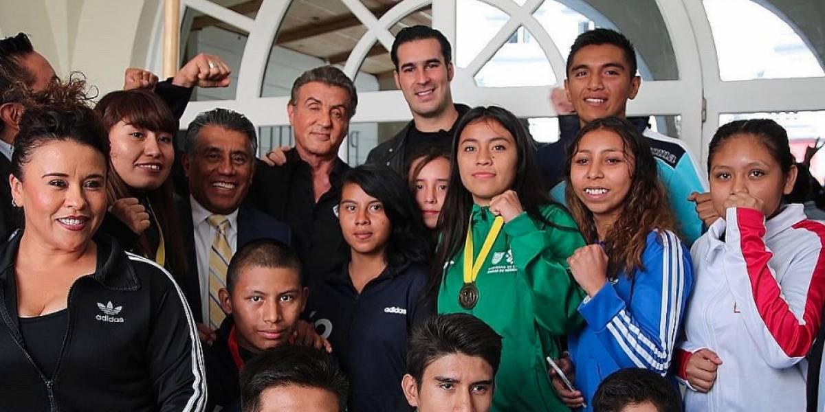 'Rocky' motiva a jóvenes boxeadores mexicanos