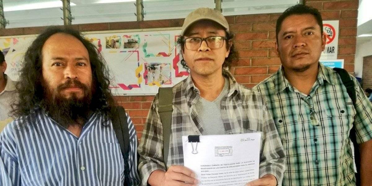 Presentan tachas contra el aspirante a magistrado Franc Martínez
