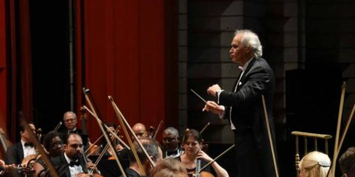 En octubre serán realizados dos conciertos sinfónicos en el Teatro Nacional