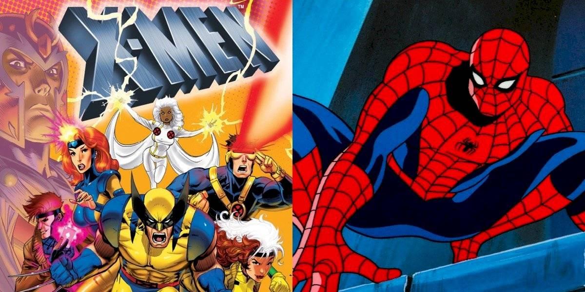 Disney+: Las series animadas de X-Men y Spiderman estarán en la plataforma