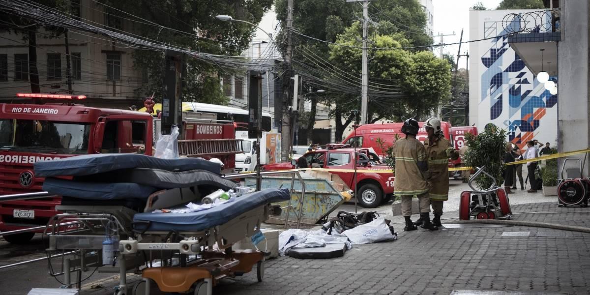 Alagamento no subsolo do Hospital Badim interrompe perícia da Polícia Civil