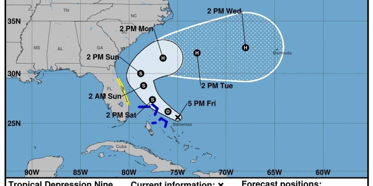 Sigue el aviso de tormenta tropical para Las Bahamas