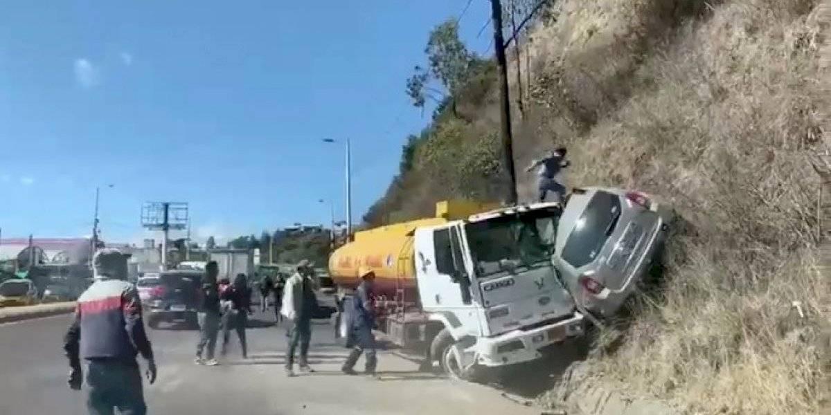 Accidente en la Simón Bolívar: Conductor de tanquero señaló que nunca quiso huir