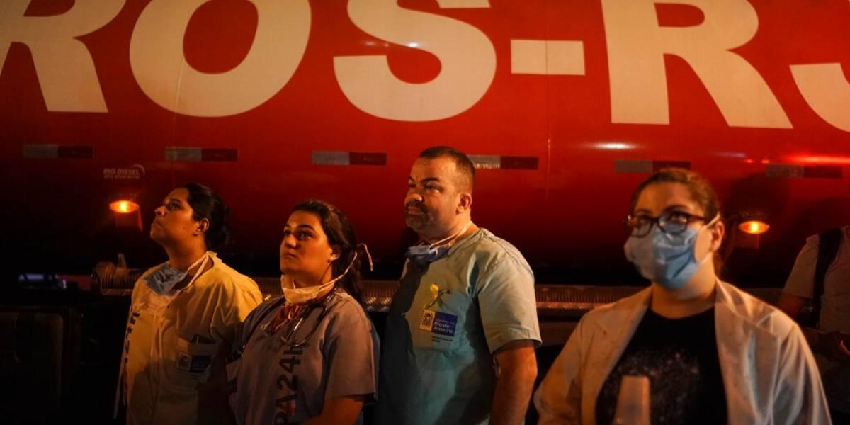Incendio en hospital de Brasil deja al menos 10 muertos