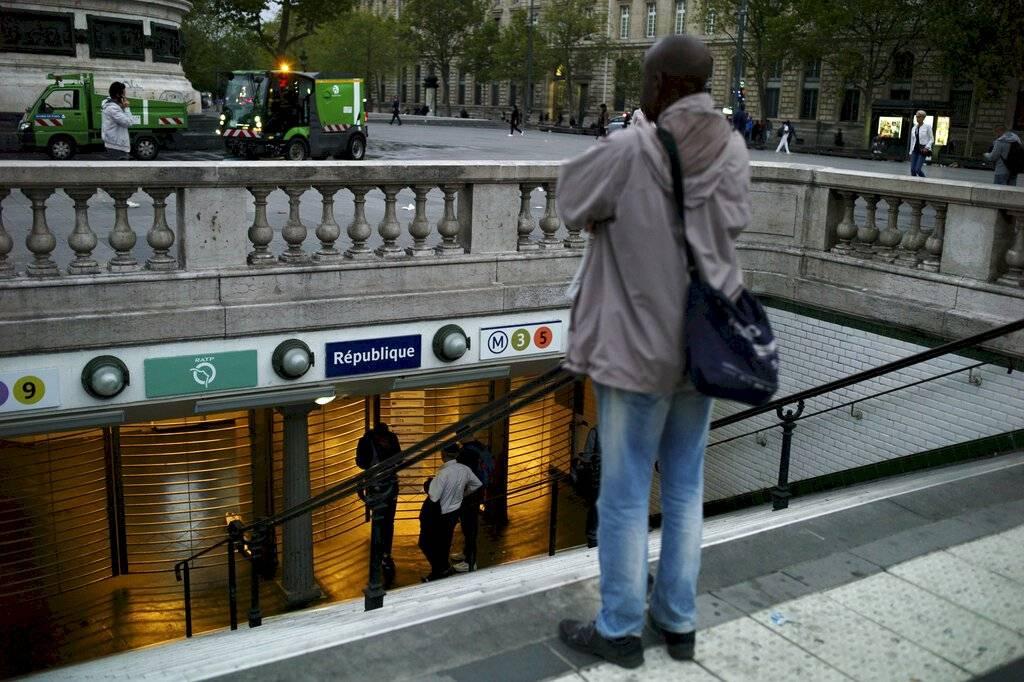 Huelga en París