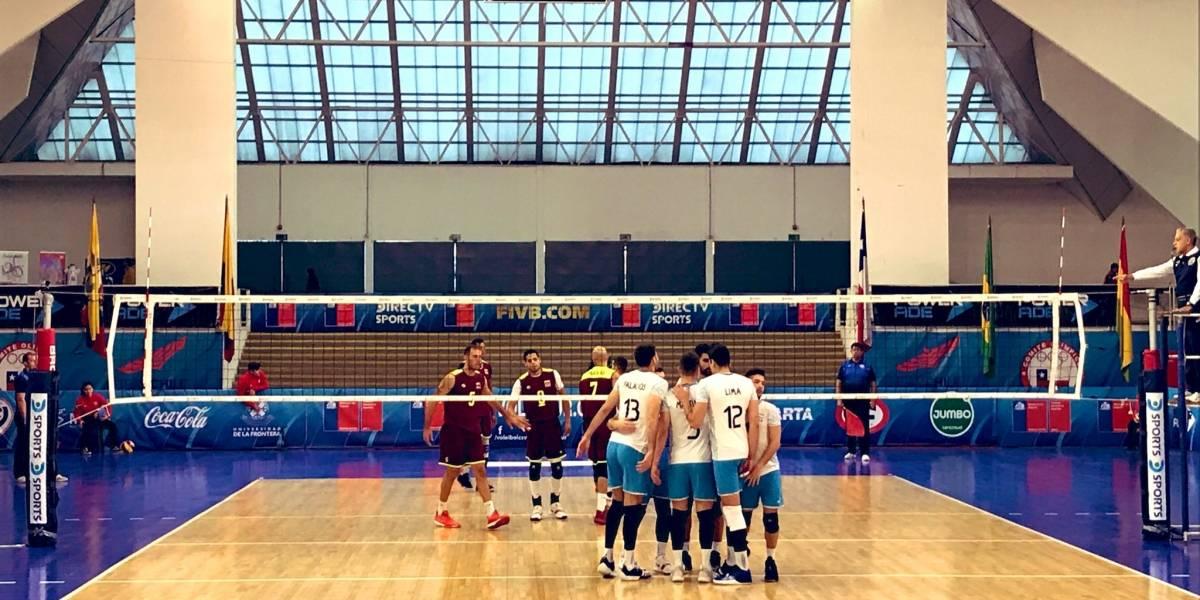 Argentina confirmó su favoritismo y avanzó con facilidad a la final del Sudamericano de voleibol