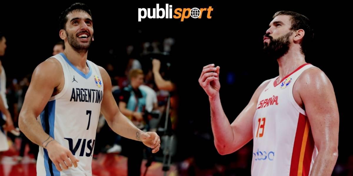¡Histórico! Argentina y España, finalistas en el Mundial de basquetbol