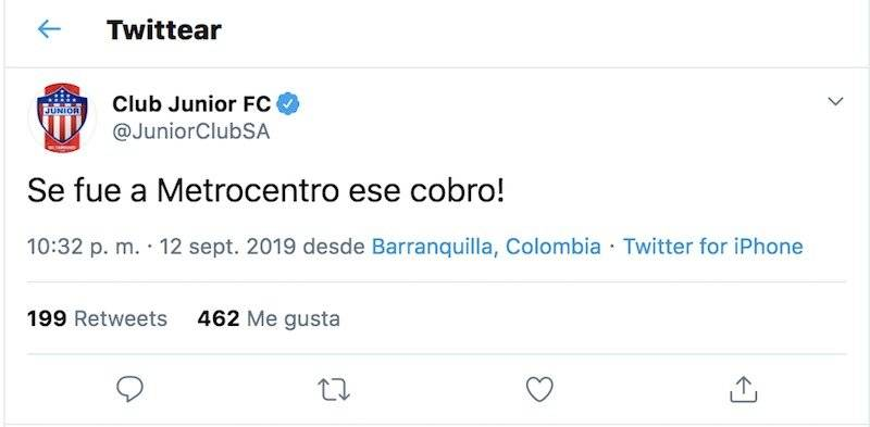 Burla Junior VS Cali en penales de Copa Águila 2019
