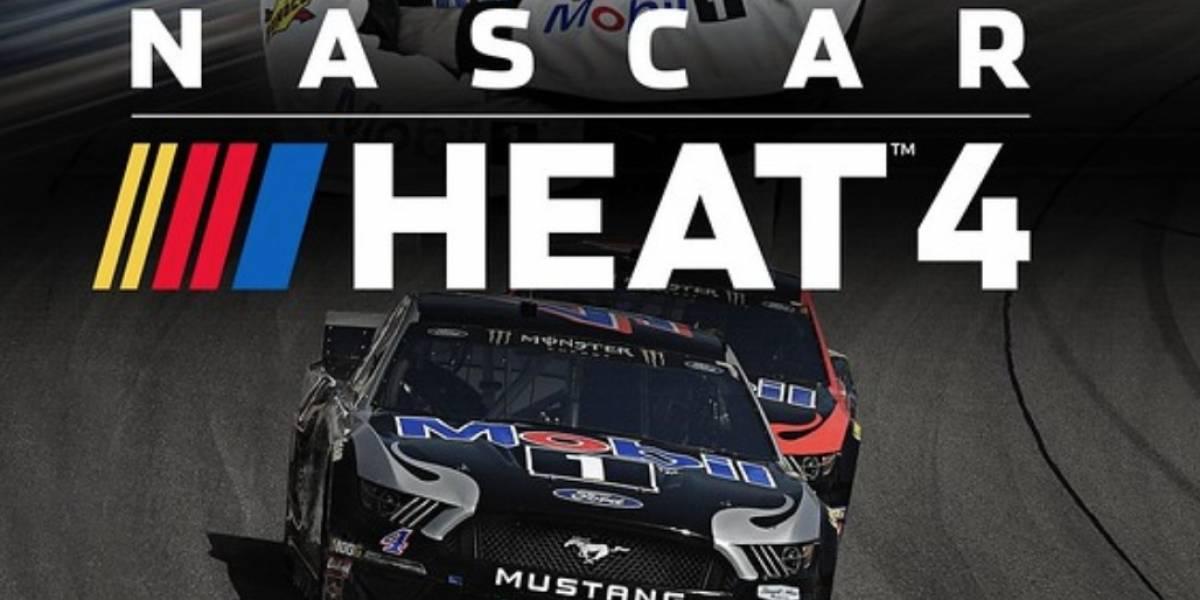 Game NASCAR Heat 4 chega ao PlayStation 4 nesta sexta-feira