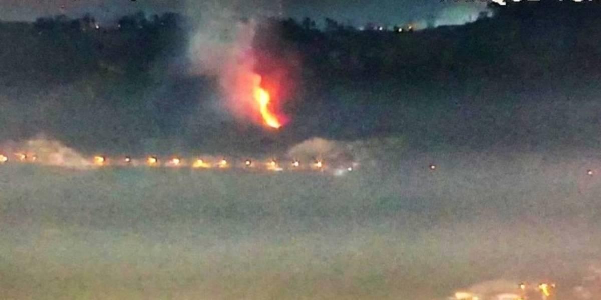 Se reporta conato de incendio forestal en el cerro Auqui