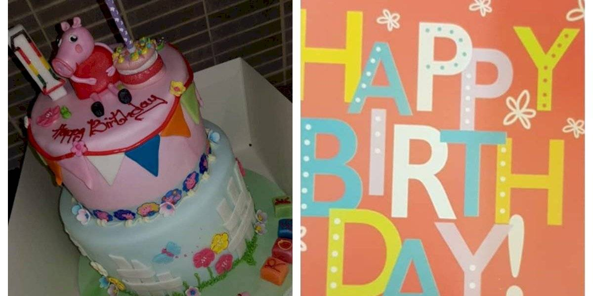 """""""El papá de Hannah"""": desconocido pagó la torta de una niña que estaba de cumpleaños el mismo día de su hija fallecida"""