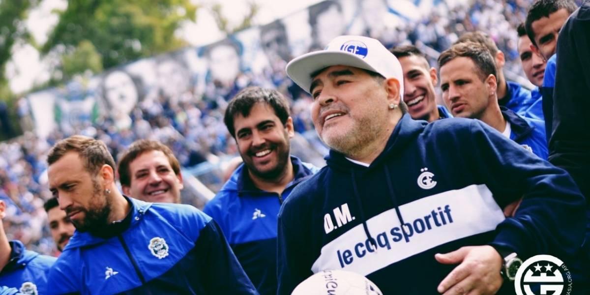 Diego Maradona debuta como técnico este fin de semana en la Superliga de Argentina