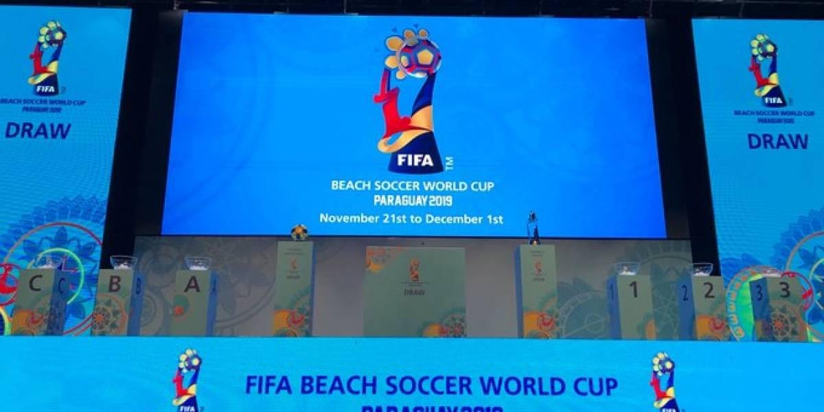 México ya tiene rivales para el Mundial de Futbol de Playa 2019