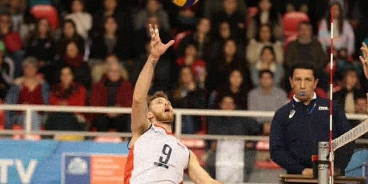 Chile dio batalla en la derrota ante el todopoderoso Brasil en el Sudamericano de voleibol