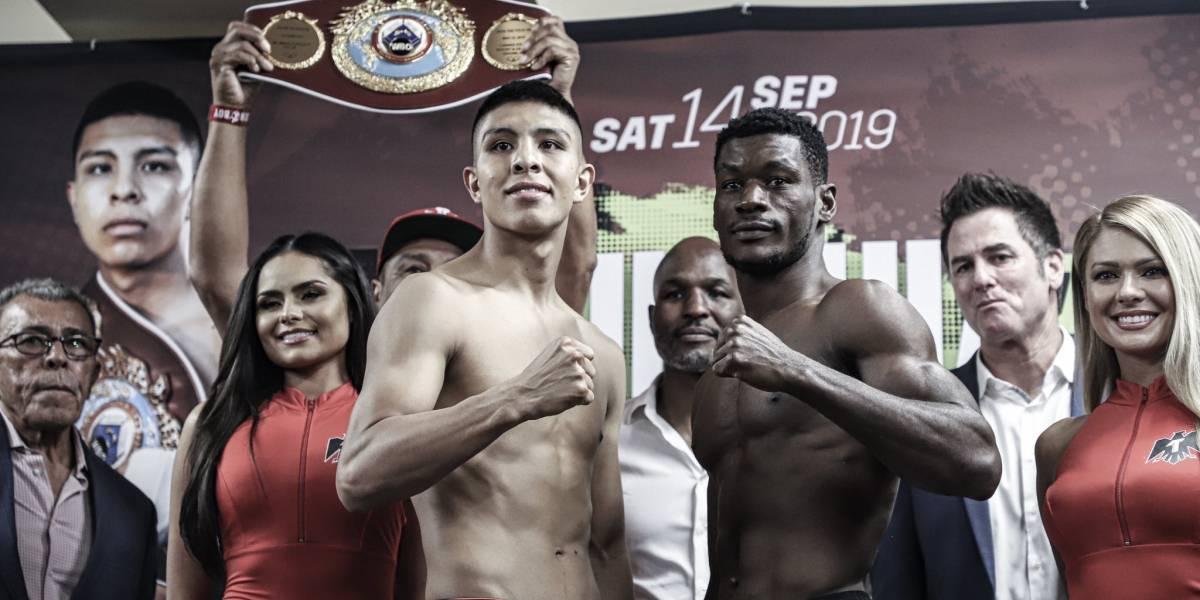 Jaime Munguía supera primer prueba y está listo para defender su título