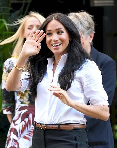 Meghan Markle reaparece con joyas de Lady Di Getty Images