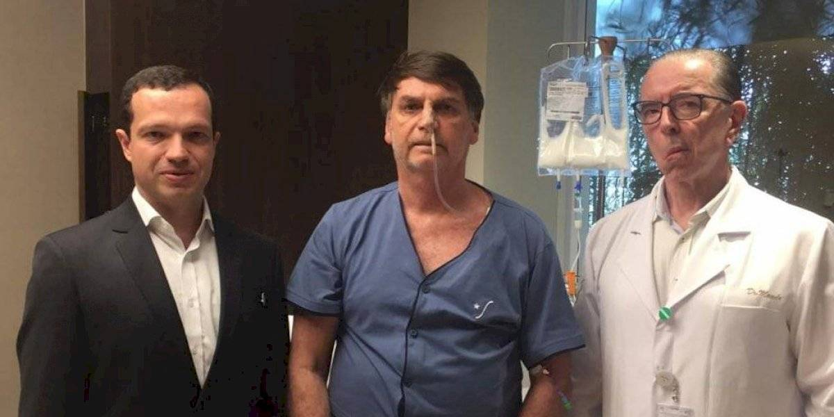 VIDEO. Jair Bolsonaro, ya sin sonda nasogástrica, retoma alimentación tras cirugía