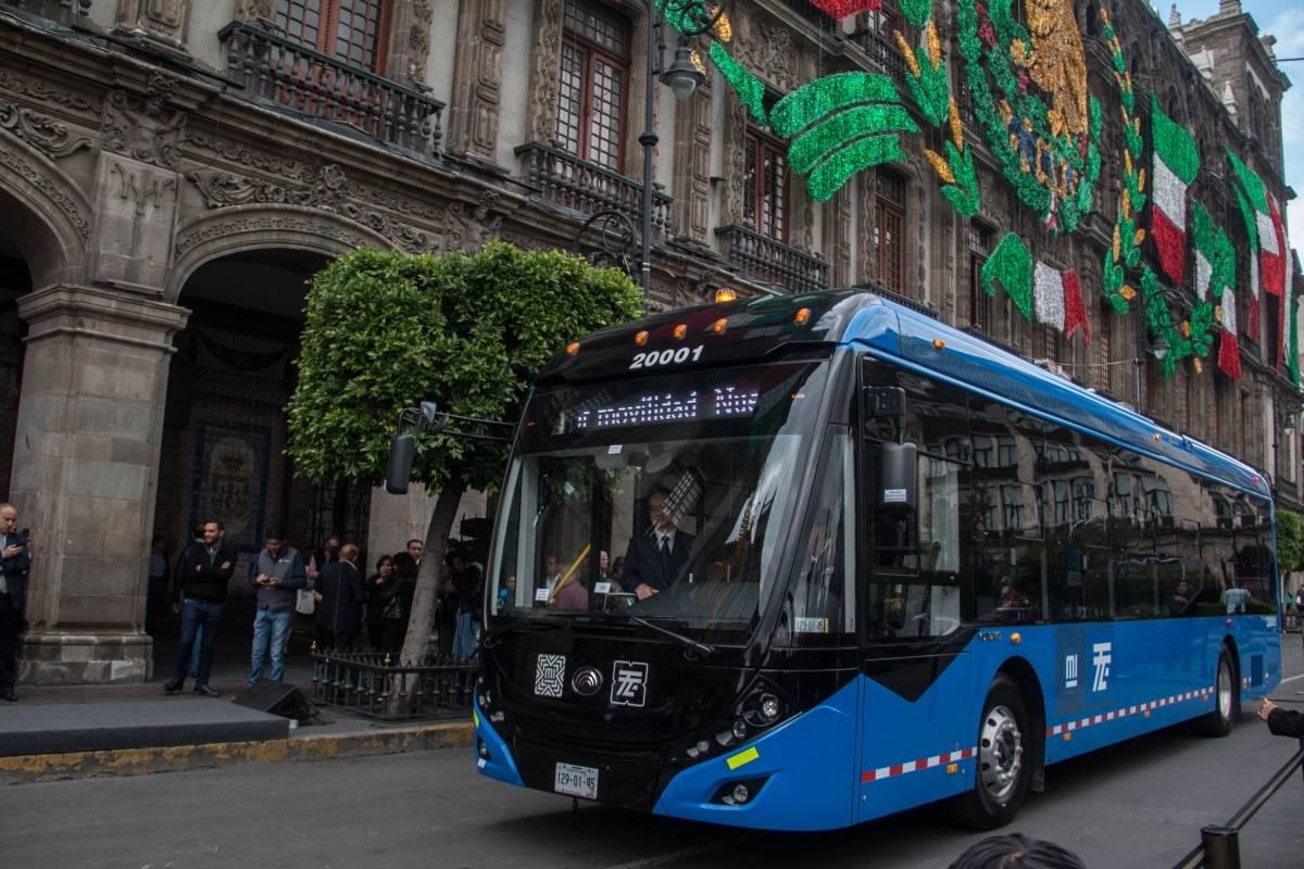 Presentan Las Nuevas 63 Unidades De Trolebús En CDMX
