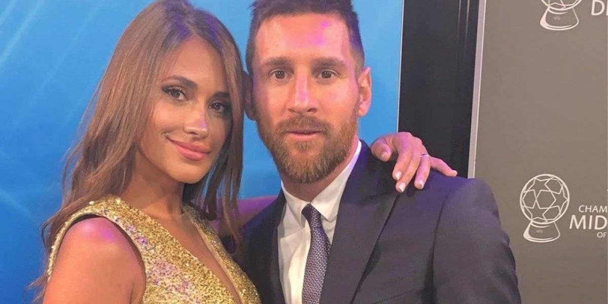 Así es la historia de amor entre Messi y Antonella