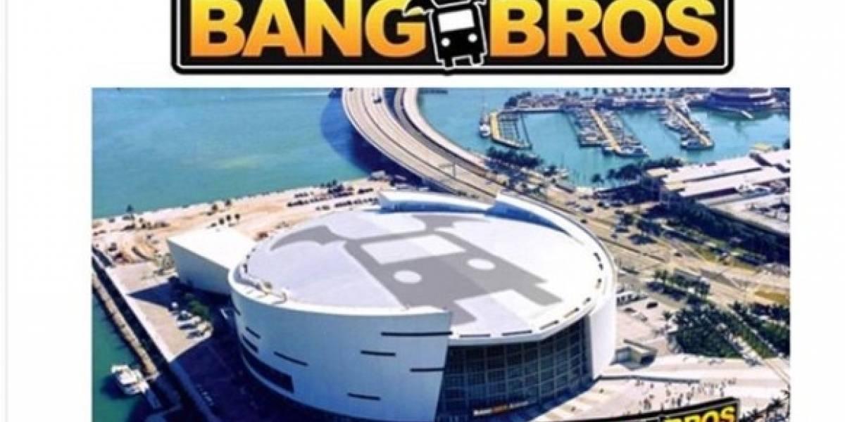 ¿BangBros Arena?: Sitio porno ofrece su marca para el nombre del estadio de los Miami Heat
