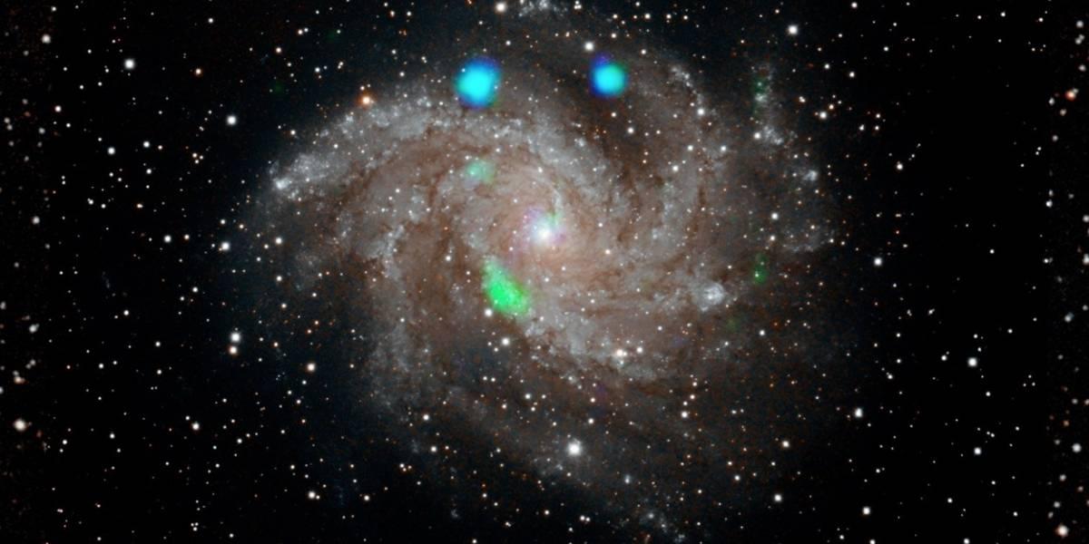 NASA: Logran ver una extraña fuente de luz verde en el espacio