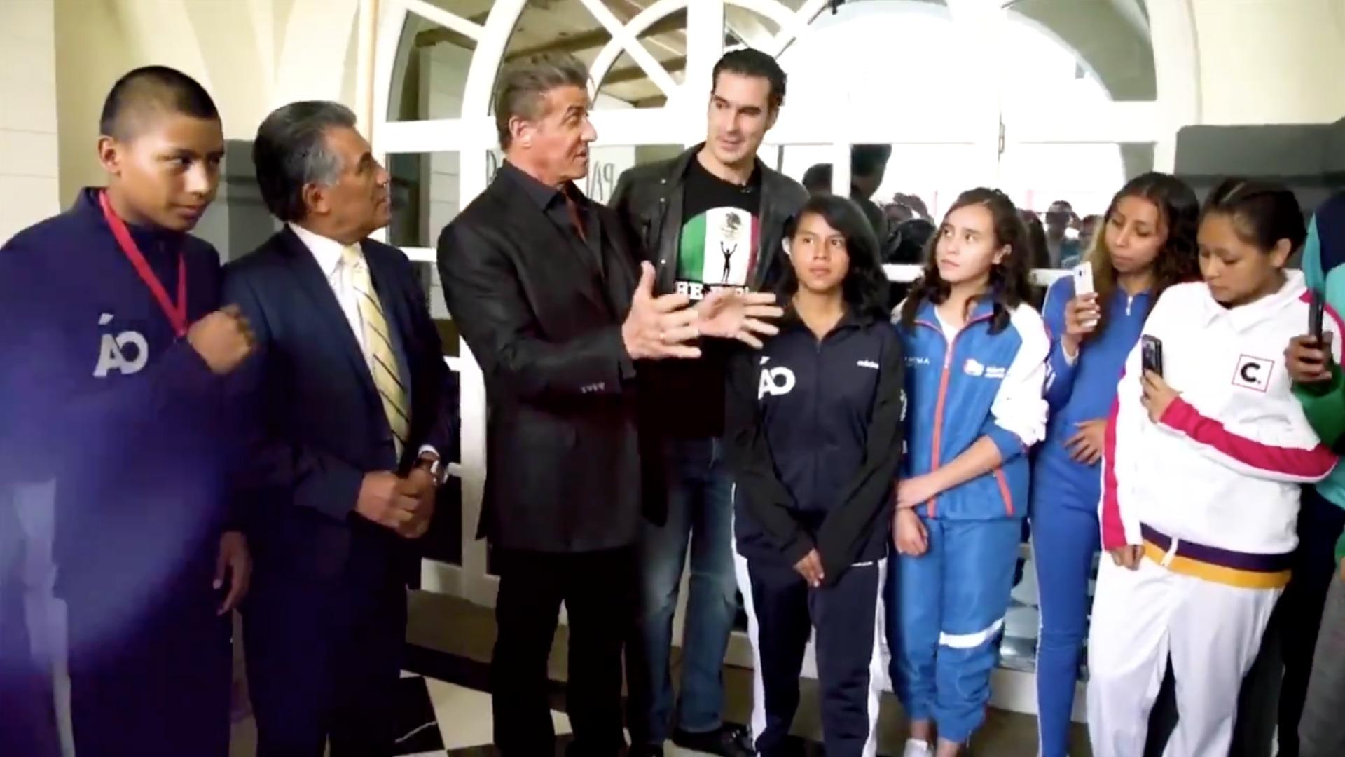 Box México Sylvester Stallone