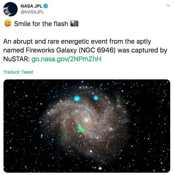 NASA Luz