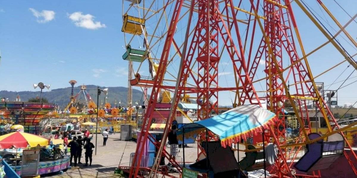 Ferias cantonales no podrán instalar juegos mecánicos en Quetzaltenango