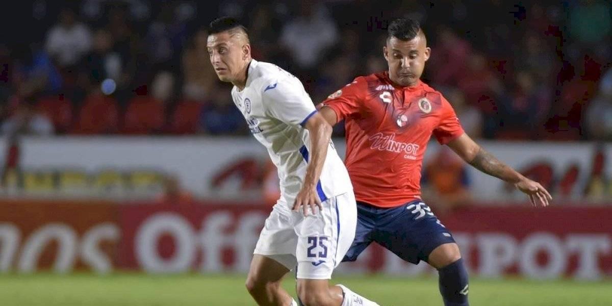 Veracruz empata con Cruz Azul, en debut de Siboldi