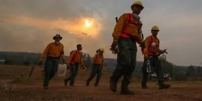 Bolivia en llamas