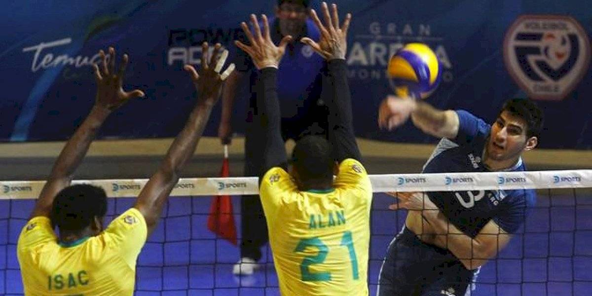Brasil dio vuelta una dramática final y ganó una vez más el Sudamericano de voleibol