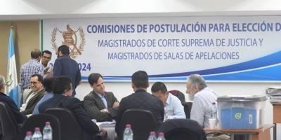Comisiones postuladoras CSJ y Salas de Apelaciones