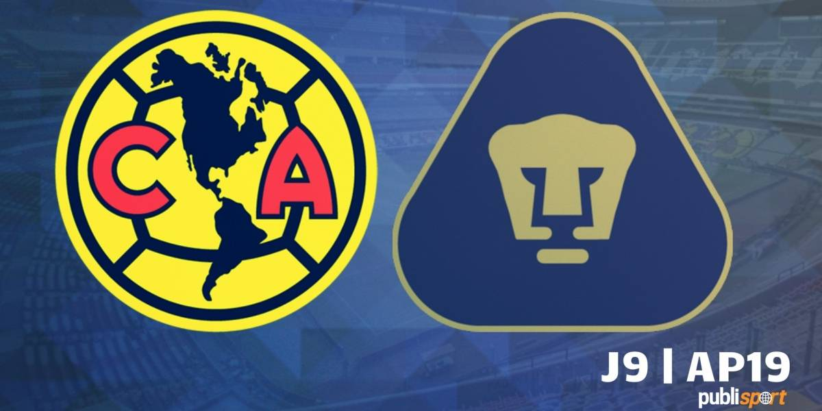 Pumas rescata el empate frente al América en el Azteca