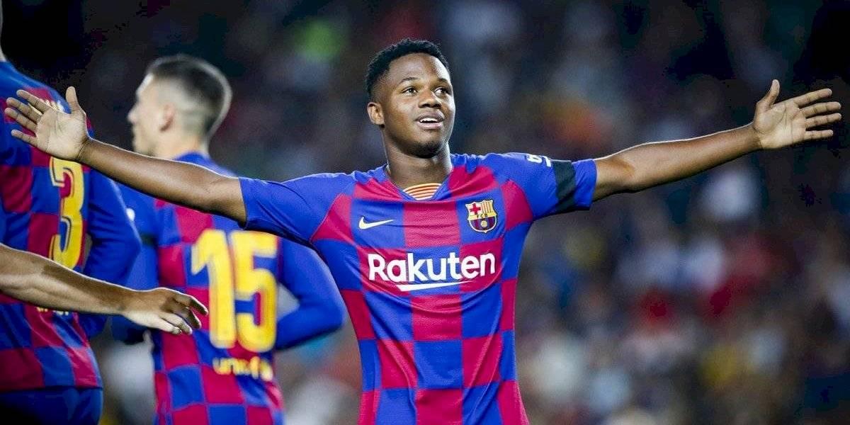 Ansu Fati sigue sorprendiendo y rompió nuevo récord histórico con el Barcelona y en La Liga