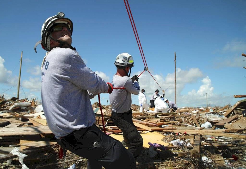 Destrucción en Bahamas tras el paso del huracán Dorian