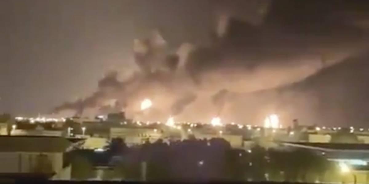 Rebeldes en Yemen reivindican ataques a petrolera de Arabia Saudita