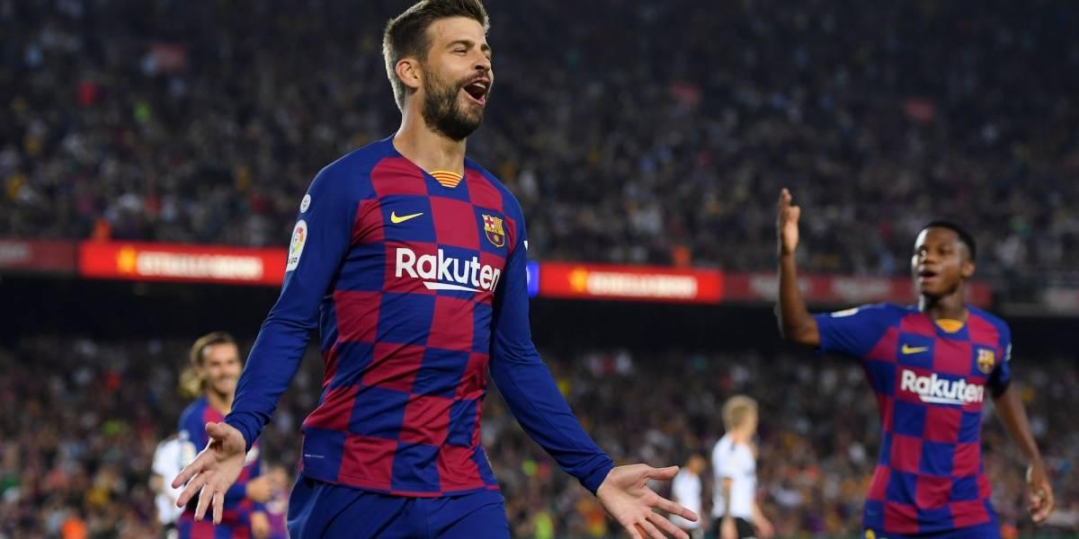 Barcelona le puso un baile al Valencia, con todo y nuevo DT