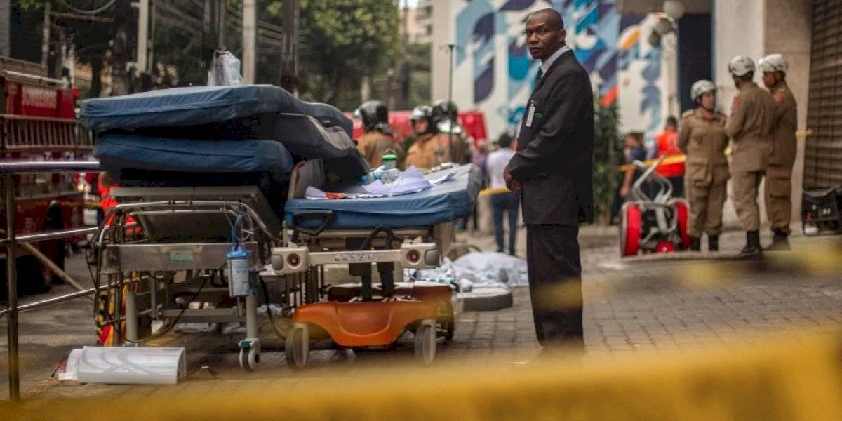 VIDEO. Al menos 11 pacientes mueren en incendio en un hospital de Río de Janeiro