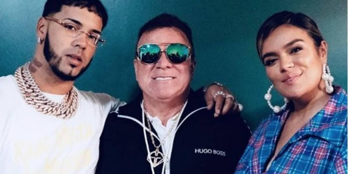 'Papá G' se roba el show tras cantar una canción de Anuel AA y Daddy Yankee