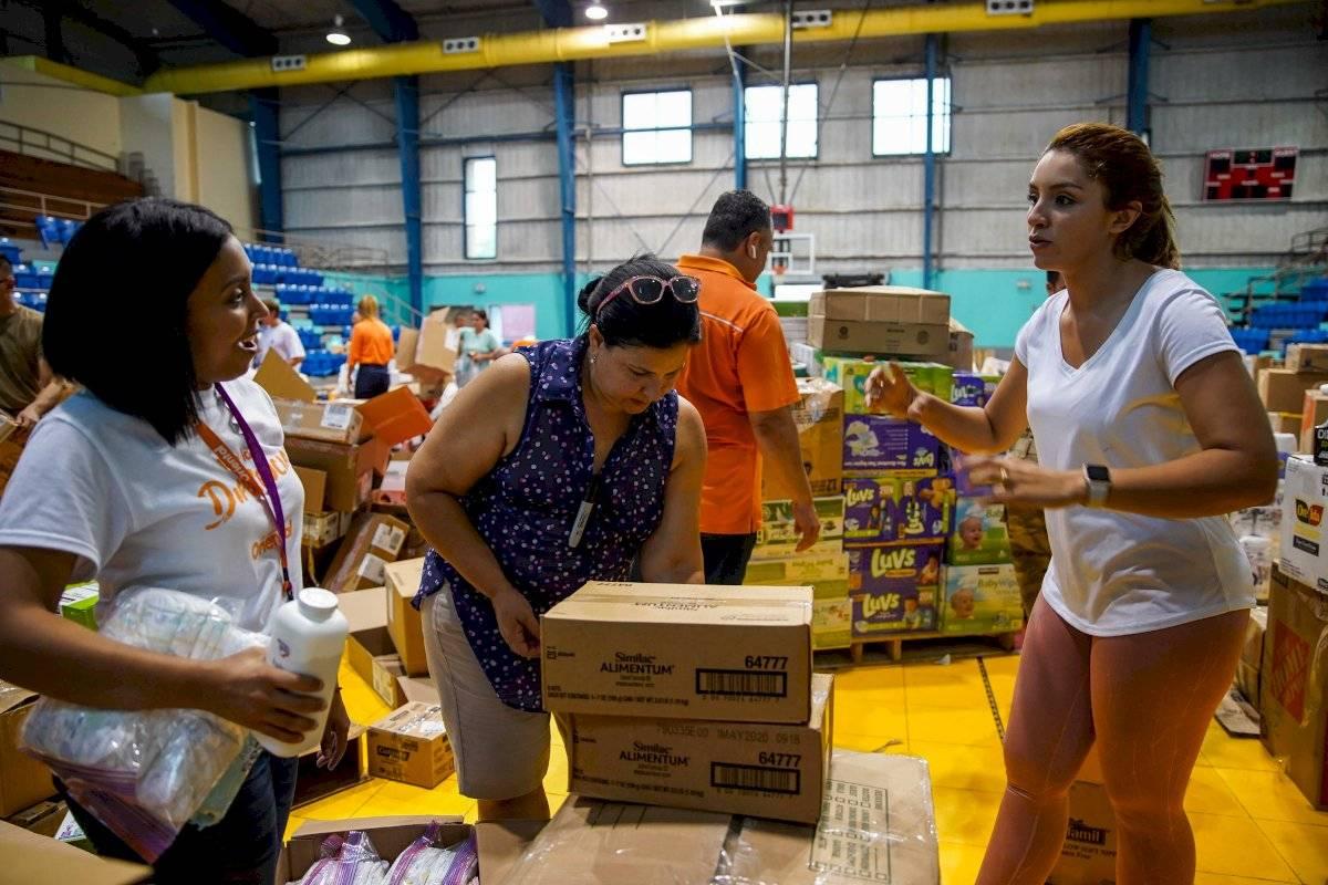 Puerto Rico Cambia envía más de 130 mil libras de ayuda a Bahamas