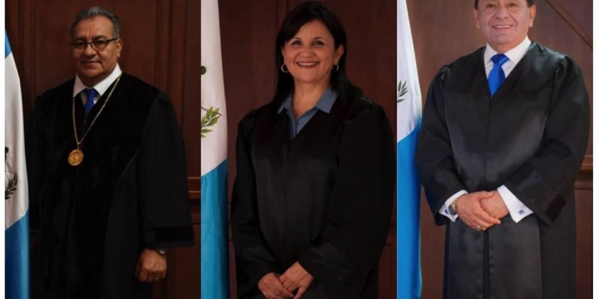CC suspende trámite de antejuicios en contra de tres magistrados