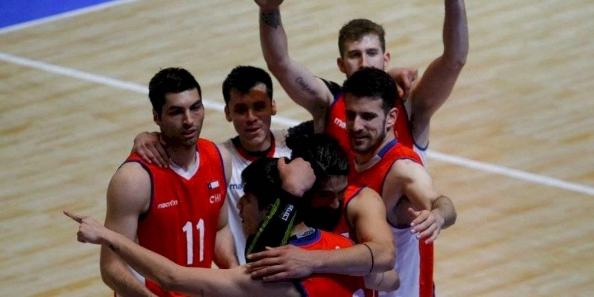 ¡Histórico! Chile vuelve al podio del Sudamericano de voleibol después de 26 años