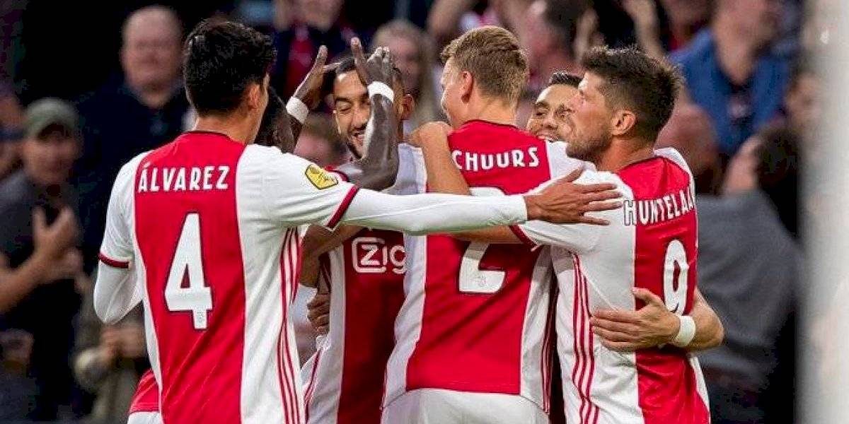 Ajax, con Edson Álvarez de titular, golea al Heerenveen