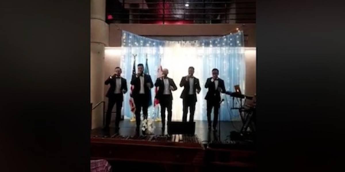 Grupo guatemalteco Esperanto deleita a migrantes en Maryland en fiestas patrias